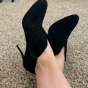 Nine West Black Booties Heels